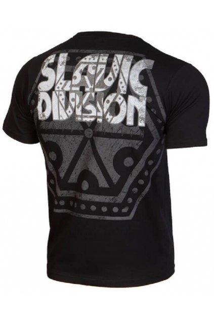 Slavic Division pánské triko PERUN černá obr1