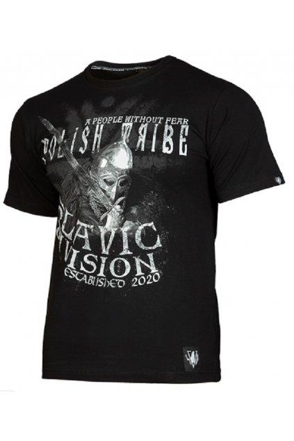 Slavic Division pánské triko TRIBE černá obr1
