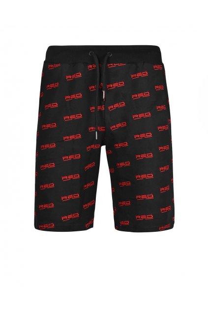 Double Red panské kraťasy UTTER FULL LOGO Black obr1