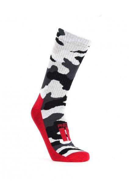 Ponožky THE RED SPORT BW obr1