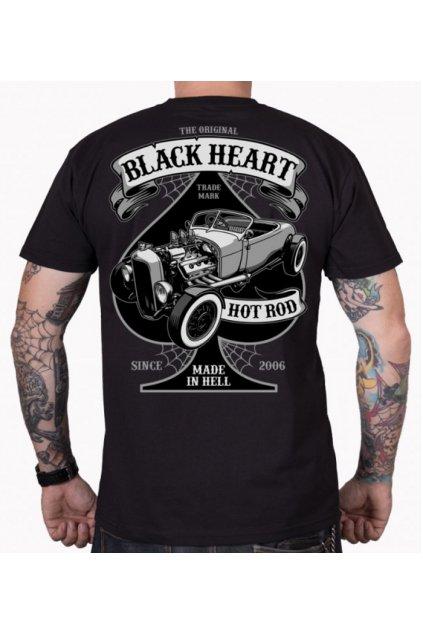 Pánské Triko BLACK HEART ROADSTER HOT ROD přední strana