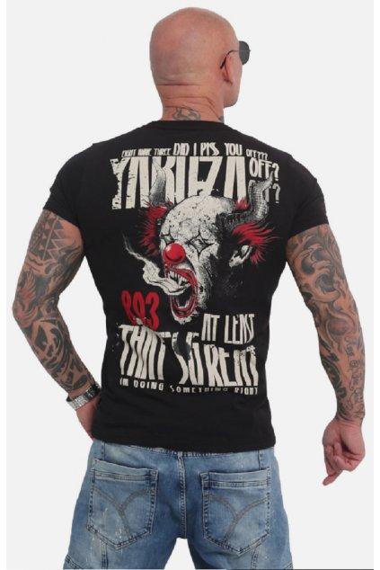 Pánské triko Yakuza Piss Off TSB 16020 Černá obr1