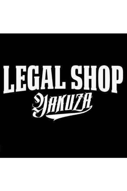 Samolepka na auto  Legal Shop Yakuza Logo obr1