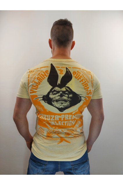 Pánské tričko Yakuza Premium YPS 2812 hellgelb