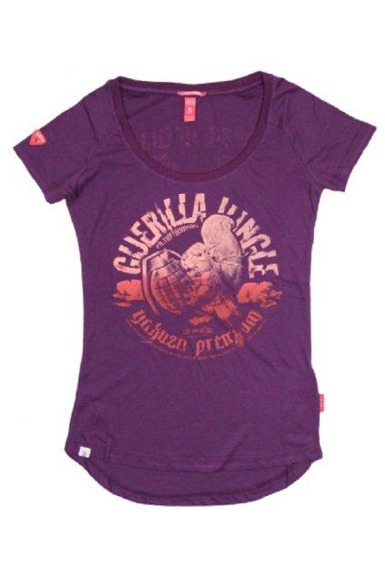 Dámské tričko Yakuza Premium 2630 fioletowa obr1
