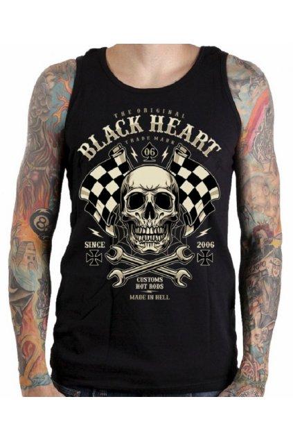 Pánské Tílko BLACK HEART STARTER přední strana