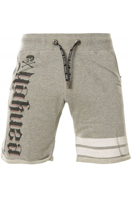 Pánské kraťasy Scrap Town Sweat Shorts SSB 14035 Light Grey Melange obr1