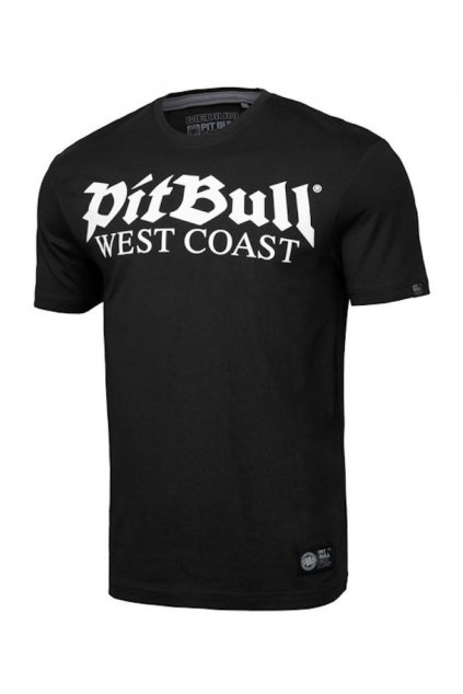 Pánské triko PIT BULL WEST COAST - OLD LOGO černé obr1