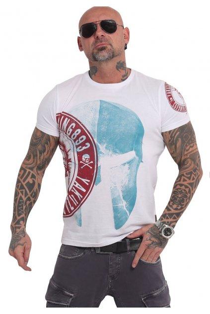 Yakuza tričko pánské SPARTAN TSB 16073 bílé obr1
