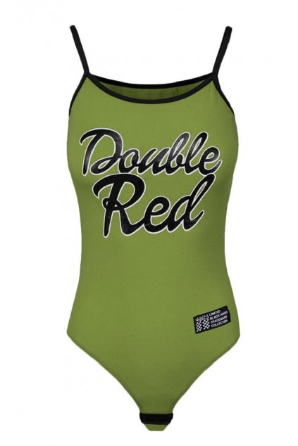 Double Red dámské BODY RED BODY Olive obr1