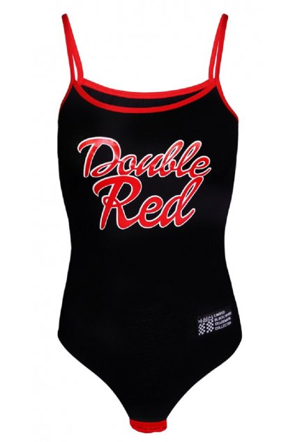 Double Red dámské BODY RED BODY Black obr1