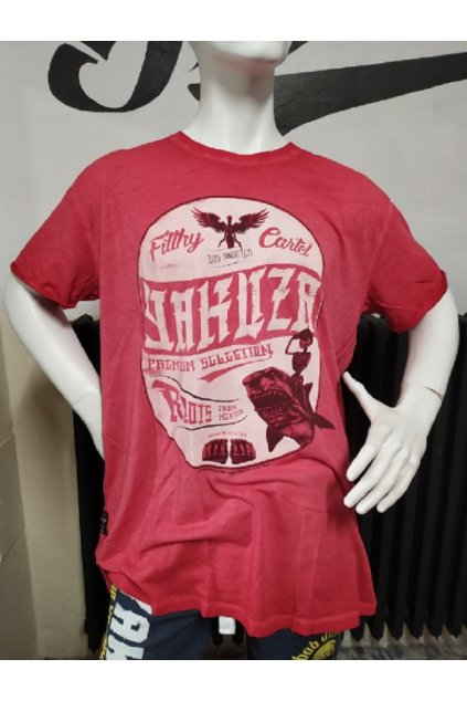 Yakuza Premium pánské triko Red Vintage obr1