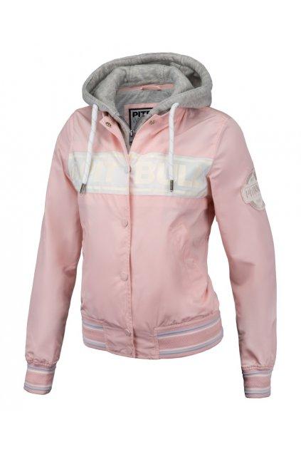 PitBull West Coast - dámská letní bunda SOLANA růžová obr1