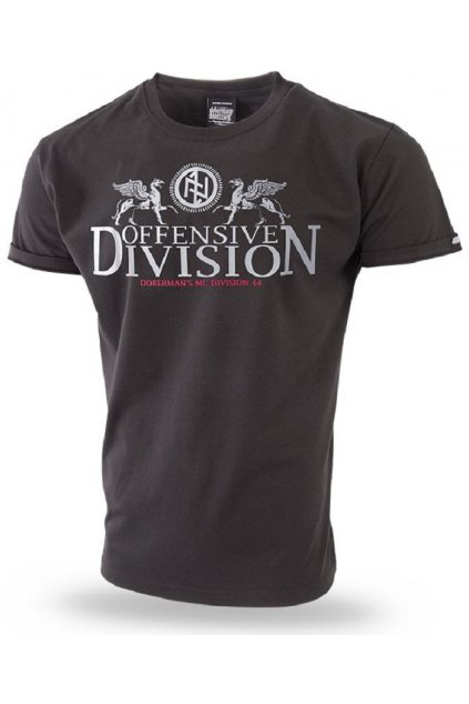 Pánské tričko Dobermans Aggressive triko GRIFFINS černá
