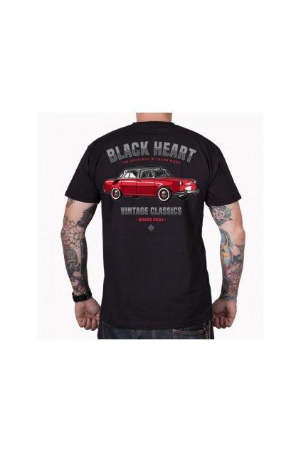Pánské Triko BLACK HEART MB přední strana