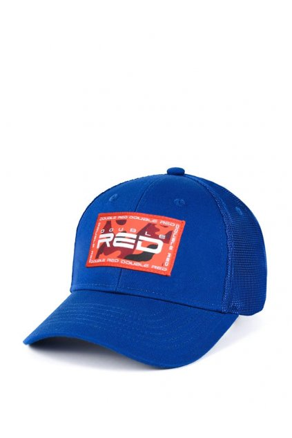 Pánská Kšiltovka Double Red Camo Trademark Collection Cap Blue obr1