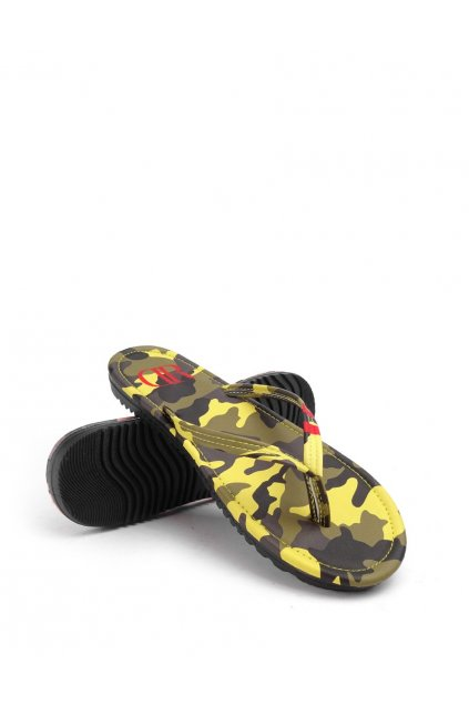 Žabky Double Red Slippers Camo Barracuda obr1