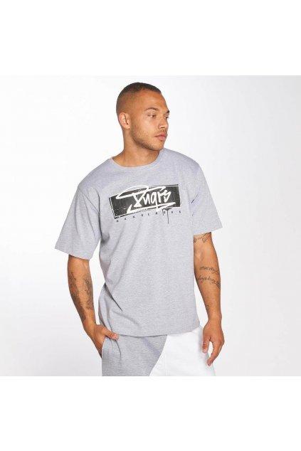 Pánské tričko DNGRS Collos - šedé obr1