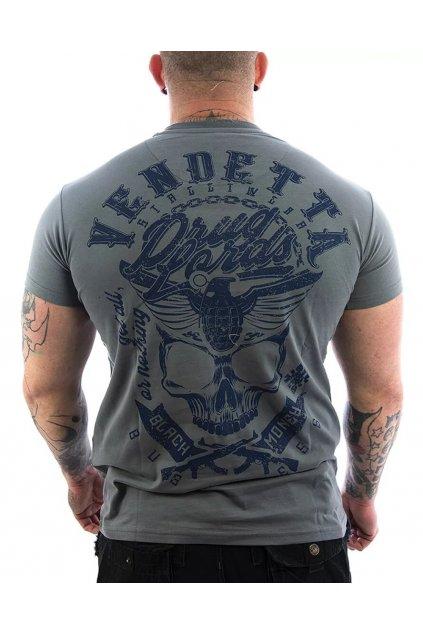 Pánské tričko Vendetta Inc. Shirt Black Money grau VD-1095 obr1
