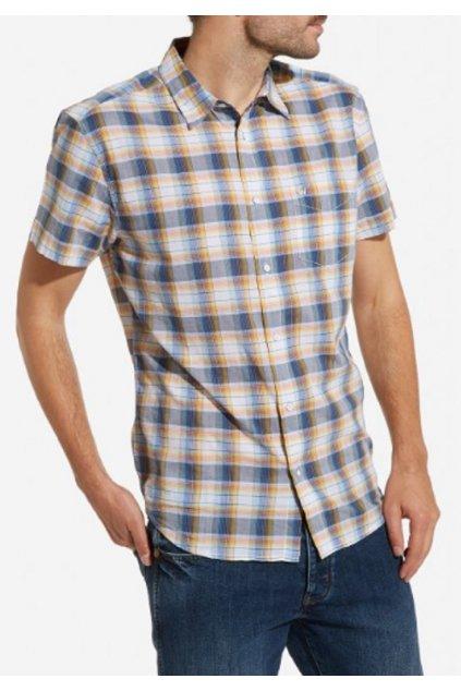 Pánská košile Wrangler W5860ORKE REGULAR FIT INDIA INK obr1