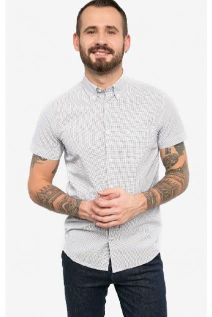 Pánská košile Wrangler krátký rukáv obr1