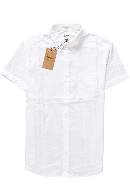 Pánská košile Wrangler lehká bílá košile obr1