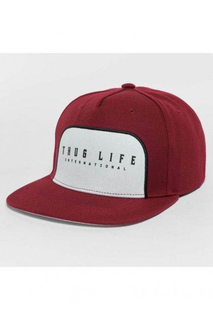 Kšiltovka Thug Life Avantgarde - červená obr1