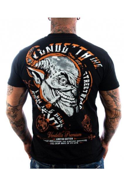 Pánské Tričko Vendetta Inc.  Devil schwarz VD-1131