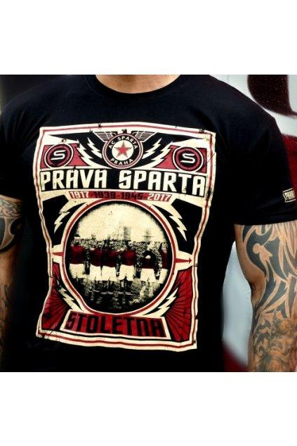 Radical Wear pánské triko Pravá Sparta! obr1