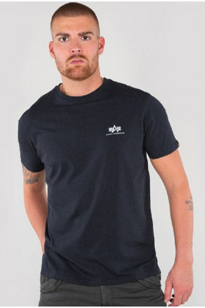 Alpha Industries T Basic Rep Blue 5XL přední strana