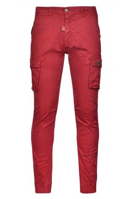 Pánské kalhoty Double Red Street Hero Pants Bordeaux obr1
