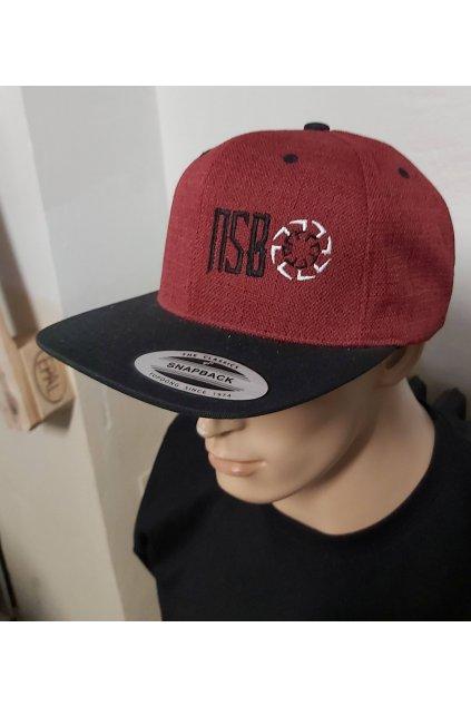 Čepice NSB Red Black obr1