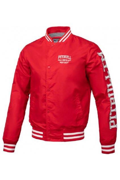 PitBull West Coast - letní bunda HERMANN červená obr1