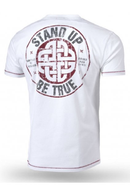Thor Steinar pánské triko Stand Up bílá obr1