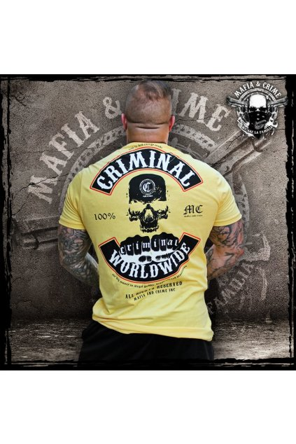 Mafia & Crime Criminal Worldwide yellow black obr1