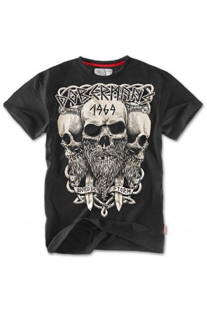 Pánské triko DOBERMANS Viking černá obr1