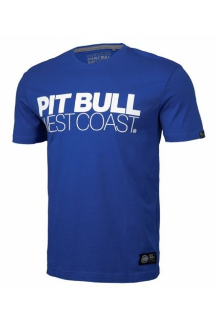 Pánské triko PIT BULL WEST COAST - TNT 20 modrá obr1