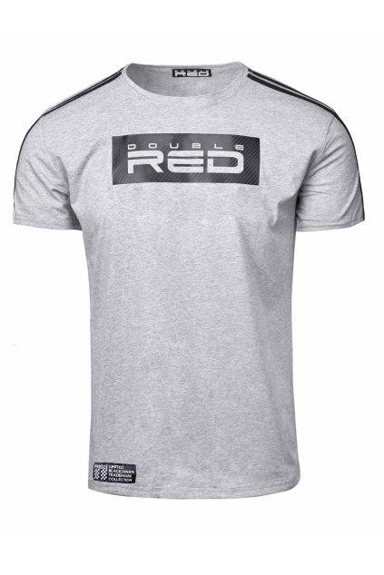Pánské triko Double Red Limited Carbon Edition Grey obr1