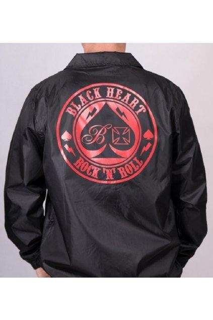 Pánská bunda BLACK HEART ACE OF SPADES přední strana