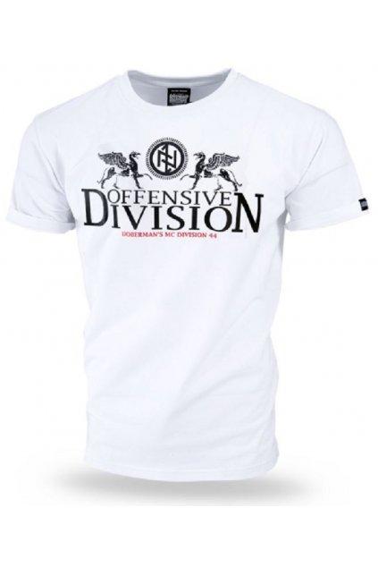 Pánské tričko Dobermans Aggressive triko GRIFFINS bílá