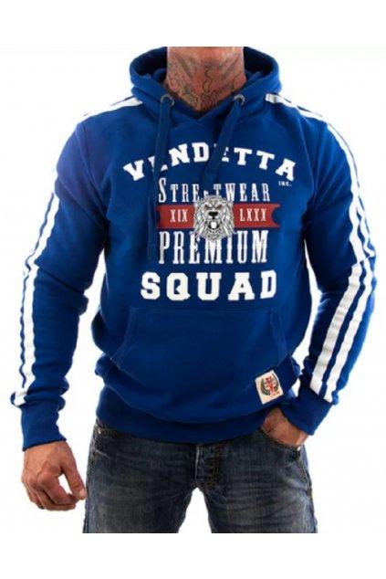 Vendetta pánská mikina s kapucí Sweatshirt Squad 3005 Navy obr1