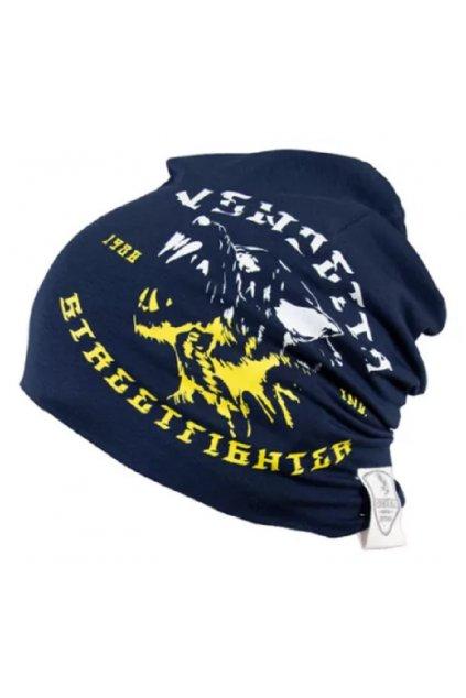 Vendetta kulich Slouch Skull Navy obr1