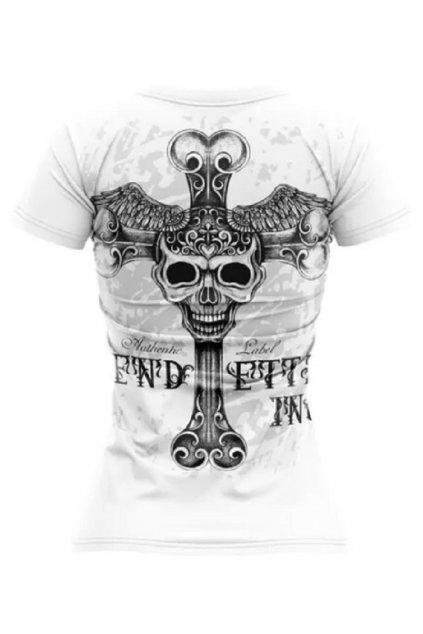 Vendetta dámské triko VD-0003 Free Skull obr1