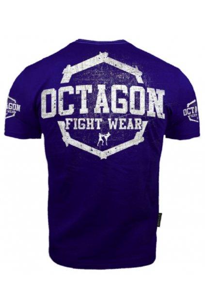PÁNSKÉ TRIKO OCTAGON FIGHT WEAR II Dark Navy obr1