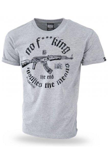 Dobermans Aggressive triko WEAPON šedá obr1