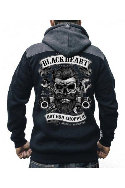 Pánská mikina BLACK HEART RESPECT TRADITIONAL přední strana