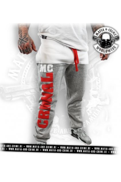 Mafia & Crime tepláky MC CRMNAL obr1