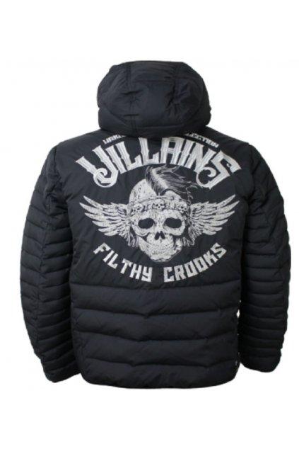 Yakuza Premium pánska zimní bunda s kapucí  2950 černá obr1