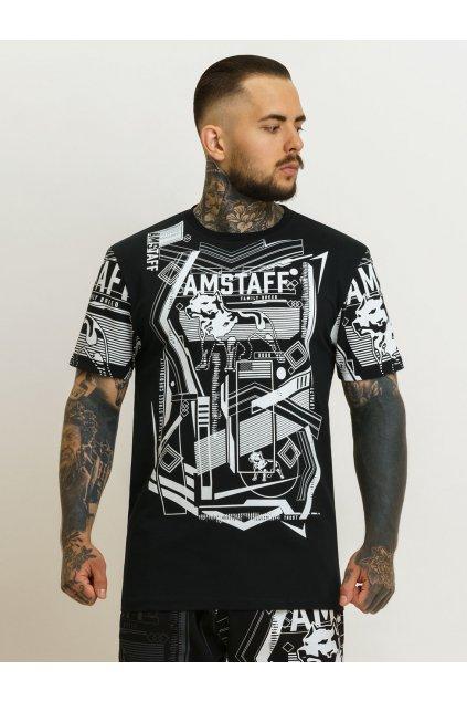 Pánské triko Amstaff Boxton přední strana