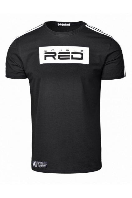 Pánské triko Double Red B&W Edition černá obr1